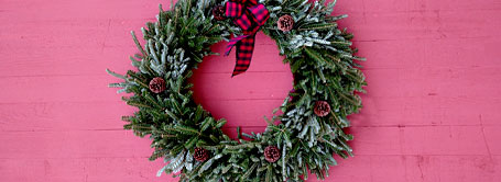 Wreaths and Winter Containers
